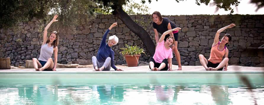 Pilates on retreat in Italy